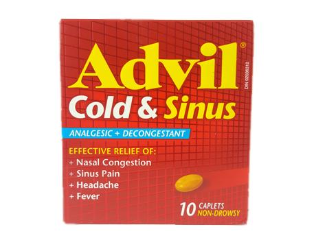 Advil Cold & Sinus CPLT