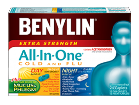 Benylin All in One Cold & Flu