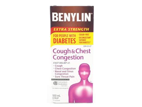 Benylin Cough Chest Diabetes
