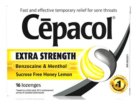 Cepacol Honey Lemon X-STR