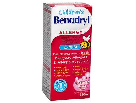 Children's Benadryl Liquid