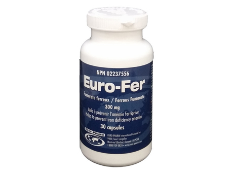 EURO-FER 300 mg CAPS