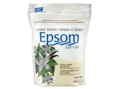 Epsom Salt Amber Vanilla