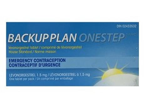 Backup Plan ONESTEP 1.5 mg