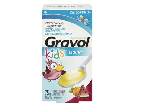 Gravol Liquid Children