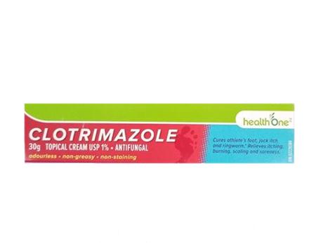 H1 Clotrimazole 1% Cream