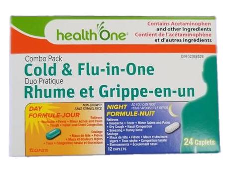 H1 Cold & Flu Day+Night