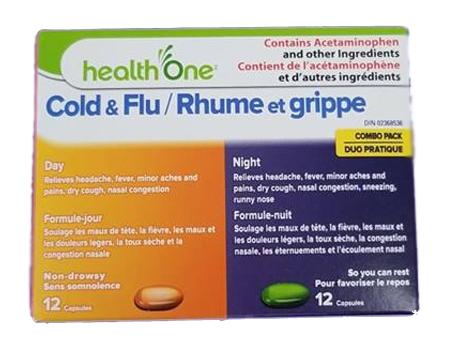H1 Cold & Flu Day&Night