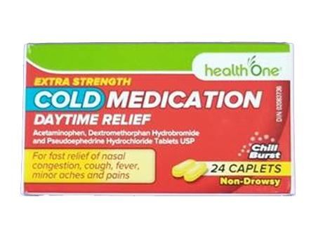 H1 Cold Medication Day X-STR