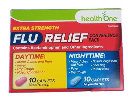 H1 Flu Relief Day & Night