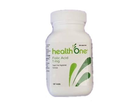 H1 Folic Acid 1 mg Yeast