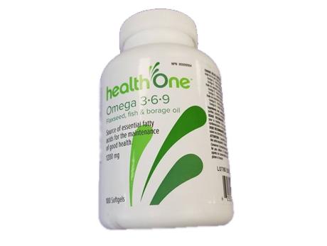 H1 Omega 3-6-9 1200 mg