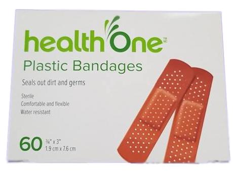 H1 Plastic Bandages Box