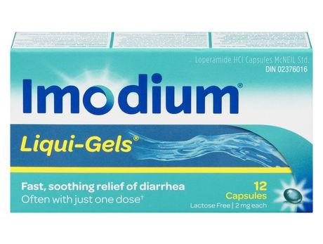 Imodium Liquid Gels