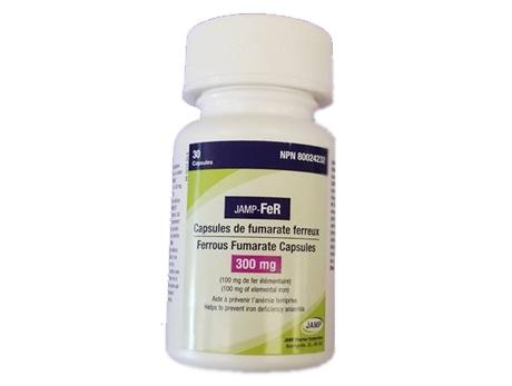 JAMP-Ferrous Fuma 300 mg