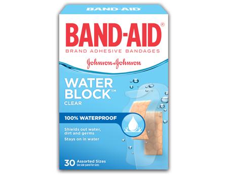 J&J Band-Aid Waterblock