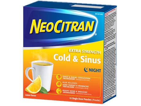 Neocitran Cold&Flu X-STR LMN