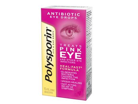 Polysporin Pink Eye Drops