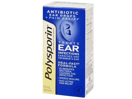Polysporin Plus Pain Ear Drops