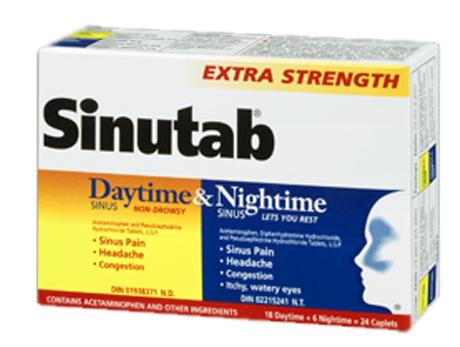 Sinutab Day&Night X-STR