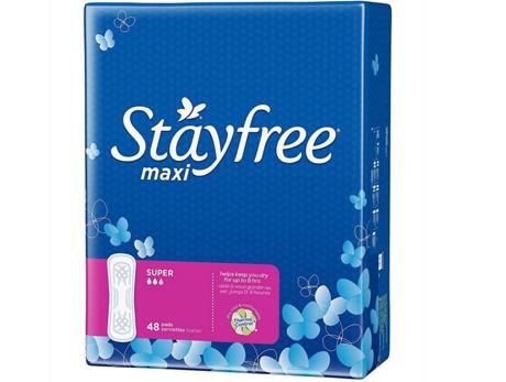 StayFree Maxi Super Pads