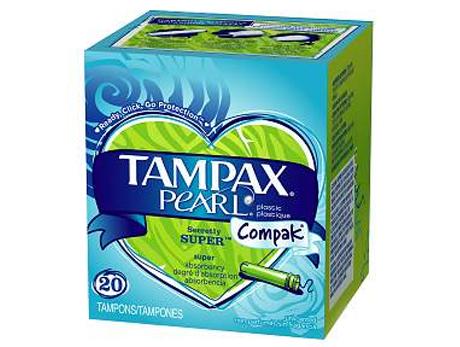 TAMPAX Pearl Super Tampons
