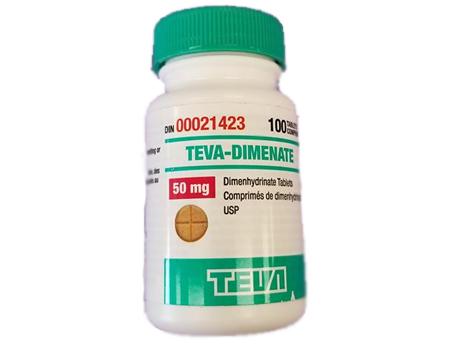 TEVA-Dimenate 50 mg