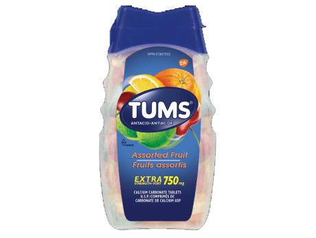 TUMS X-STR ASST FRUIT
