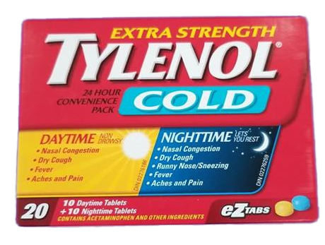 Tylenol Cold X-STR D&N TABS