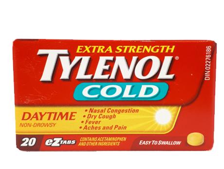 Tylenol Cold X-STR Day TABS