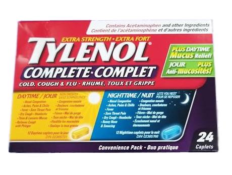 Tylenol Complete Day&Night