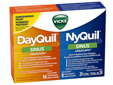 VICKS Nyquil&Dayquil Sinus