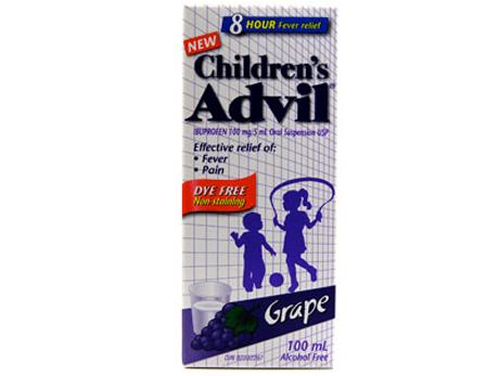 Advil Child Dye Free Susp