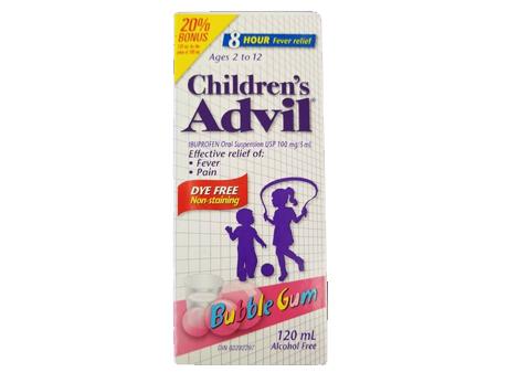 Advil Child Suspension