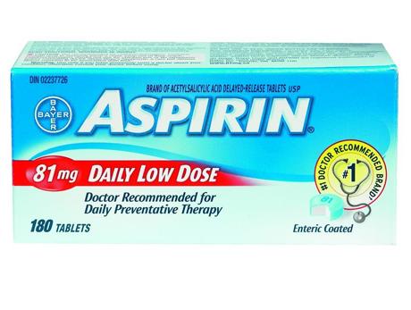 Aspirin 81 180