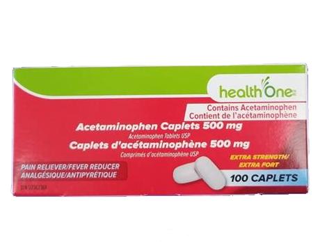 H1 Acetaminophen X-STR