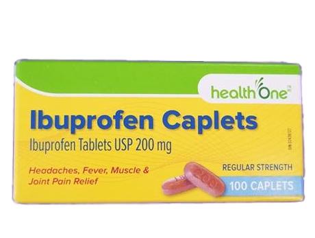 H1 Ibuprofen 200 mg CPLT 100