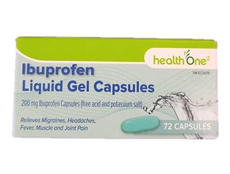 H1 Ibuprofen 200 mg Liquid 72