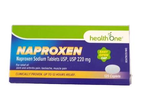 H1 Naproxen 220 mg CAPS