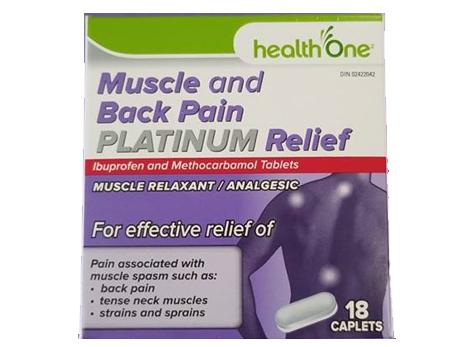 H1 PLAT Muscle & Back Pain