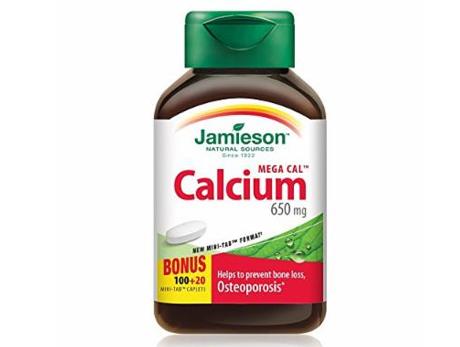 Jamieson Mega Calcium 650mg