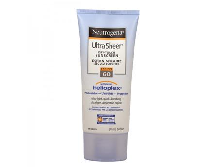 Neutrogena Sunscreen 60SPF