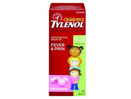 Tylenol Child Bubble Gum