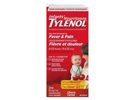 Tylenol Infant Drops Cherry