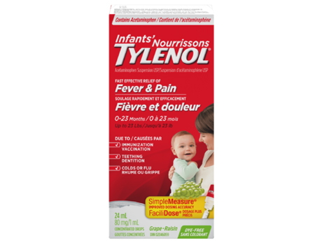 Tylenol Infant Drops Grape