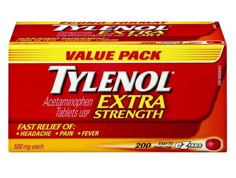 Tylenol X-STR 500 mg TABS