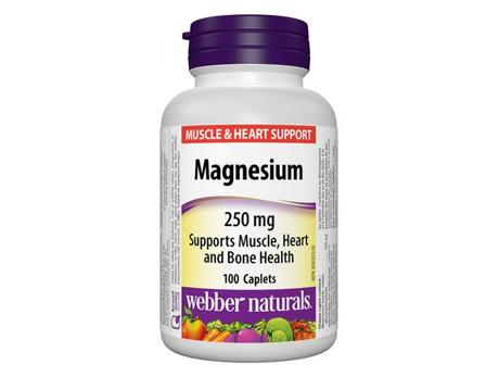Webber Magnesium 250 mg