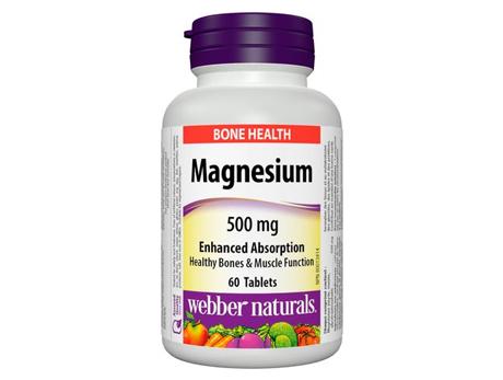Webber Magnesium 500 mg